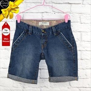 Levi's Shorts - LEVI'S SLOUCH 504 Roll Up Denim Shorts